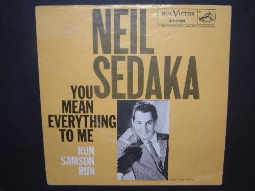 Sedaka Neil You Mean Everything To Me Myhappydays