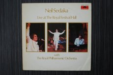 SEDAKA, NEIL - LIVE AT THE ROYAL FESTIVAL HALL