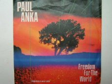 ANKA, PAUL - FREEDOM FOR THE WORLD