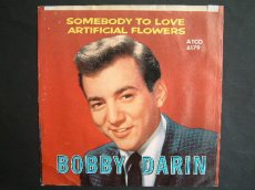 45D344 DARIN, BOBBY - SOMEBODY TO LOVE