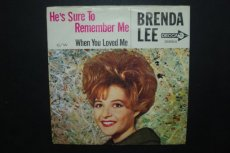 LEE, BRENDA - HE'S SURE TO REMEMBER ME