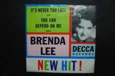 LEE, BRENDA - IT'S NEVER TOO LATE
