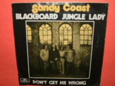 SANDY COAST - BLACKBOARD JUNGLE LADY