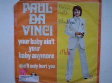 VINCI, PAUL DA - YOUR BABY AIN'T YOUR BABY ANYMORE