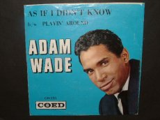 WADE, ADAM - AS IF I DIDN'T KNOW