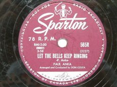 ANKA, PAUL - LET THE BELLS KEEP RINGING