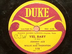 ACE, JOHNNY - YES, BABY