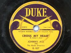 ACE, JOHNNY - CROSS MY HEART