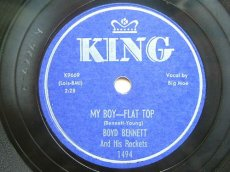 BENNETT, BOYD - MY BOY-FLAT TOP