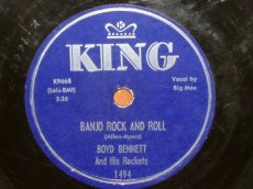 BENNETT, BOYD - BANJO ROCK AND ROLL