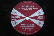 CARSON, MINDY - JUST MY LUCK