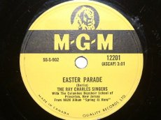 CHARLES, RAY - EASTER PARADE