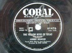DESMOND, JOHNNY - THE YELLOW ROSE OF TEXAS