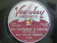 "EMERSON, BILLY ""THE KID"" - DO  YOURSELF A FAVOR"