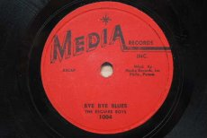 ESQUIRE BOYS - BYE BYE BLUES