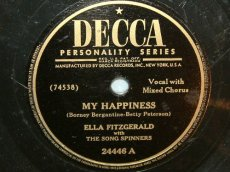 FITZGERALD, ELLA - MY HAPPINESS