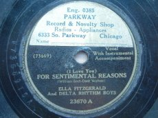 FITZGERALD, ELLA - FOR SENTIMENTAL REASONS