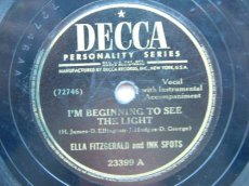 FITZGERALD, ELLA - I'M BEGINNING TO SEE THE LIGHT