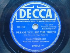 FITZGERALD, ELLA - PLEASE TELL ME THE TRUTH