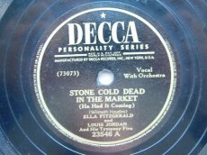 FITZGERALD, ELLA - STONE COLD DEAD IN THE MARKET
