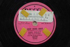 78F141 FOLEY, RED - HOT DOG RAG