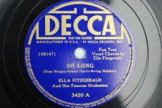 FITZGERALD, ELLA - SO LONG
