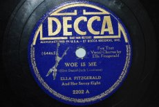 FITZGERALD, ELLA - WOE IS ME