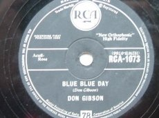 GIBSON, DON - BLUE BLUE DAY