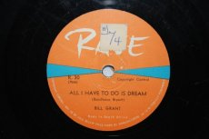 GRANT, BILLY - ALL I HAVE TO DO IS DREAM