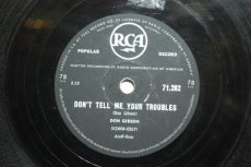 GIBSON, DON - DON'T TELL ME YOUR TROUBLES