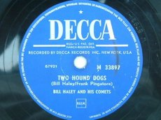 HALEY, BILL - TWO HOUND DOGS