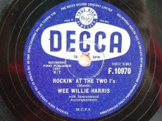 HARRIS, WEE WILLIE - ROCKIN' AT THE TWO I'S