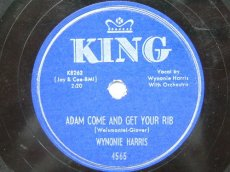 HARRIS, WYNONIE - ADAM COME AND GET YOUR RIB