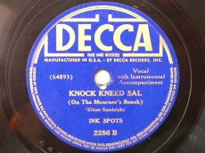 INK SPOTS - KNOCK KNEED SAL