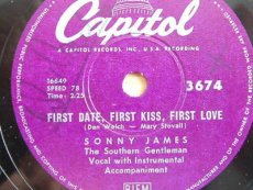 JAMES, SONNY - FIRST DATE, FIRST KISS, FIRST LOVE