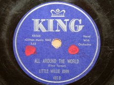 JOHN, LITTLE WILLIE - ALL AROUND THE WORLD