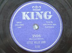 JOHN, LITTLE WILLIE - SPASMS