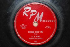 KING, B.B. - PLEASE HELP ME