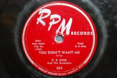 KING, B.B. - YOU DIDN'T WANT ME