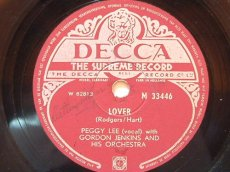 78L126 LEE, PEGGY - LOVER
