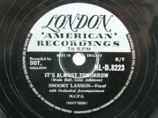 LANSON, SNOOKY - IT'S ALMOST TOMORROW
