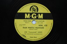 LEWIS, JOE 'CANNONBALL' - TRAIN WHISTLE NIGHTMARE