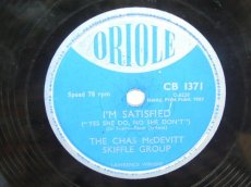 MCDEVITT SKIFFLE GROUP, THE CHAS - I'M SATISFIED