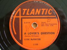 MCPHATTER, CLYDE - A LOVER'S QUESTION