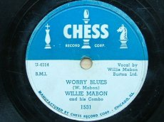 MABON, WILLIE - WORRY BLUES