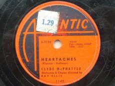 MCPHATTER, CLYDE - HEARTACHES