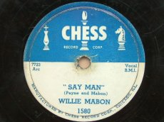 MABON, WILLIE - SAY MAN