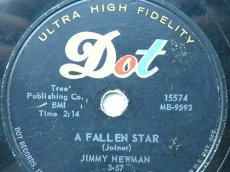 NEWMAN, JIMMY - A FALLEN STAR