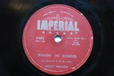 NELSON, RICKY - WAITIN' IN SCHOOL