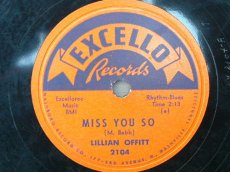 OFFITT, LILLIAN - MISS YOU SO